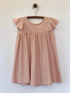 lottie dress in blush