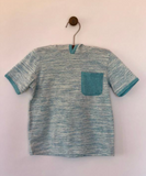 mark t-shirt in aqua