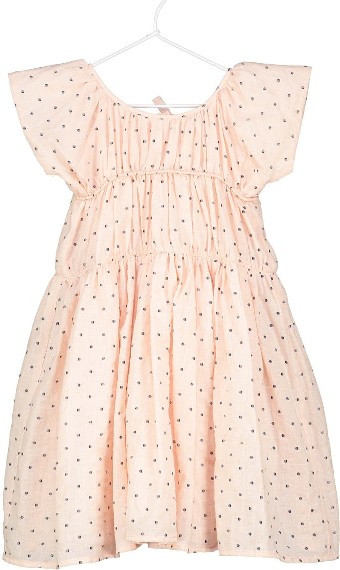 eva dress in rose dot