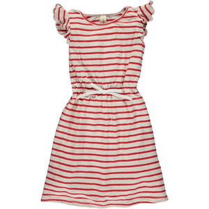 veronica dress in cherry