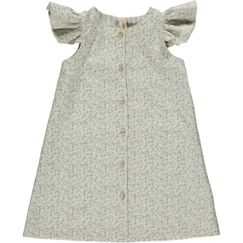 robin dress in dove floral ... reversible