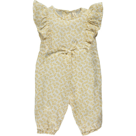 gracie romper in lemon