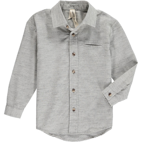 oliver shirt in charcoal