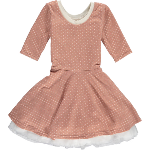 annie dress in rose ... reversible