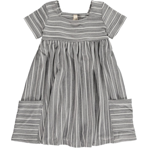 rylie dress in charcoal