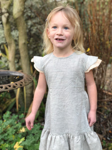 caitlin dress in frost