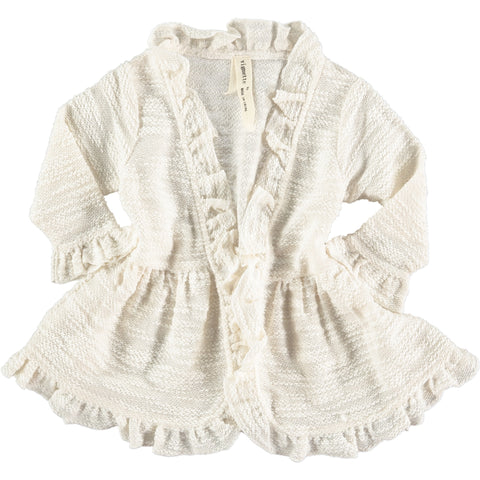 ella cardigan in cream