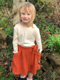 vicki skirt in autumn
