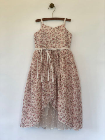 gabrielle dress in blush ... reversible