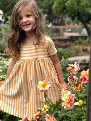 rylie dress in sunshine