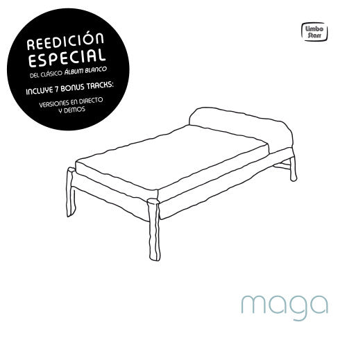 Maga - Álbum blanco