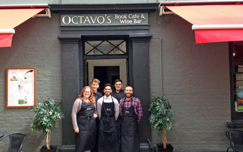 Octavo Book Cafe and Wine Bar Cardiff Bay