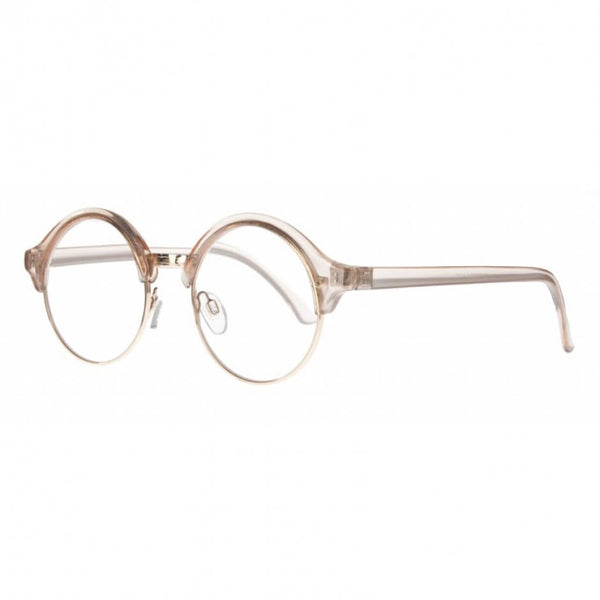 clear round clubmaster reading glasses