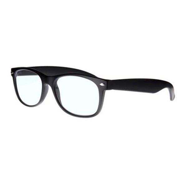 photochromatic matt black wayfarer reading glasses