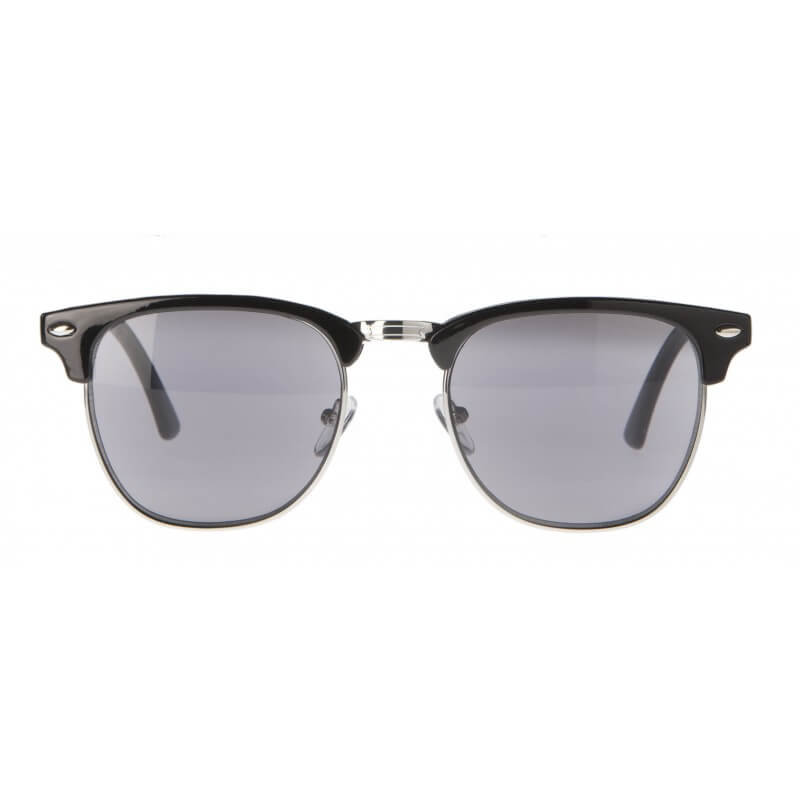95fcb751a6 Clubmaster Black Silver Reading Sunglasses – Reading 123