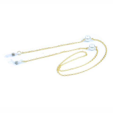 Pure White Pearl Reading Glasses Chain