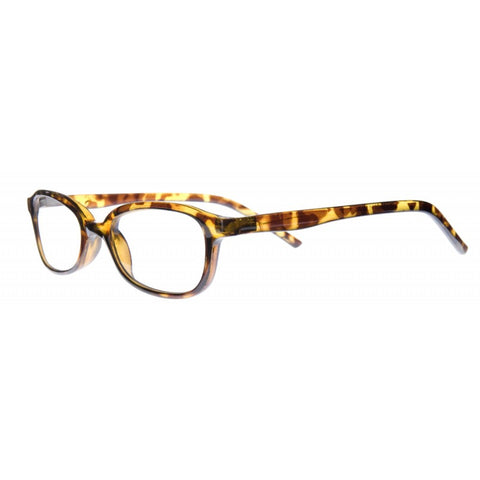 tortoiseshell half moon reading glasses