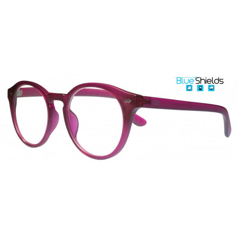 round raspberry reading glasses