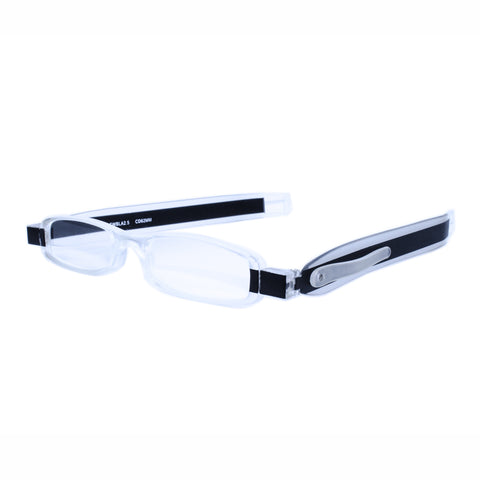 black twisties folding reading glasses