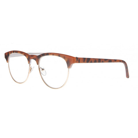 tiger print clubmaster reading glasses