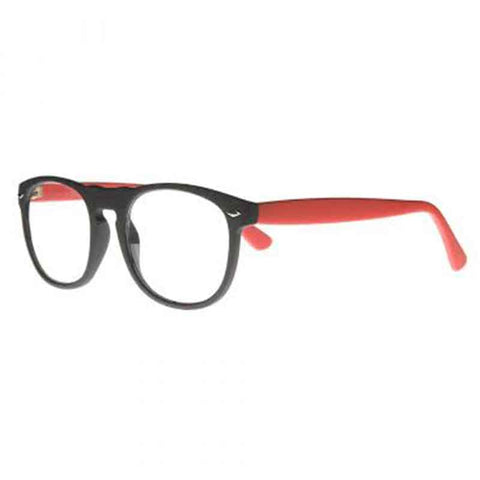 black-red-round-keyhole-bridge-reading-glasses