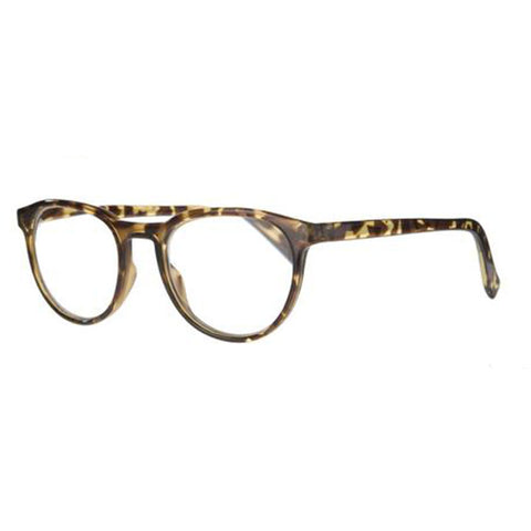 tortoiseshell round reading glasses