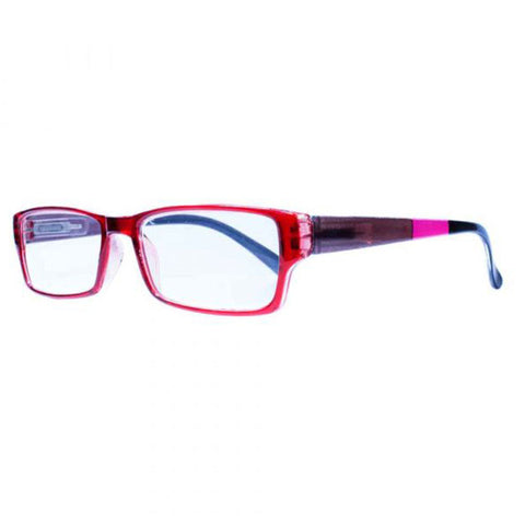 Liberty Red Brown & Pink Half Eye Reading Glasses