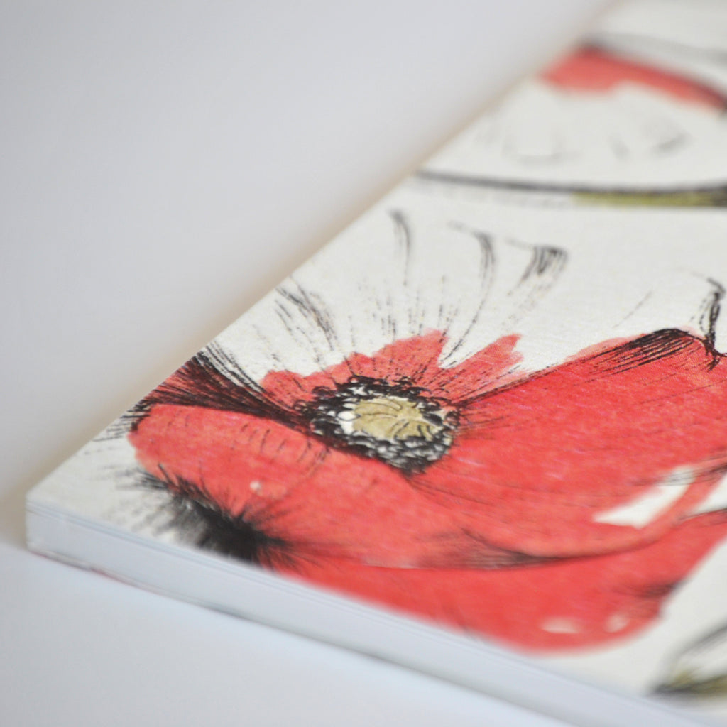 Carnet Rouge Coquelicot