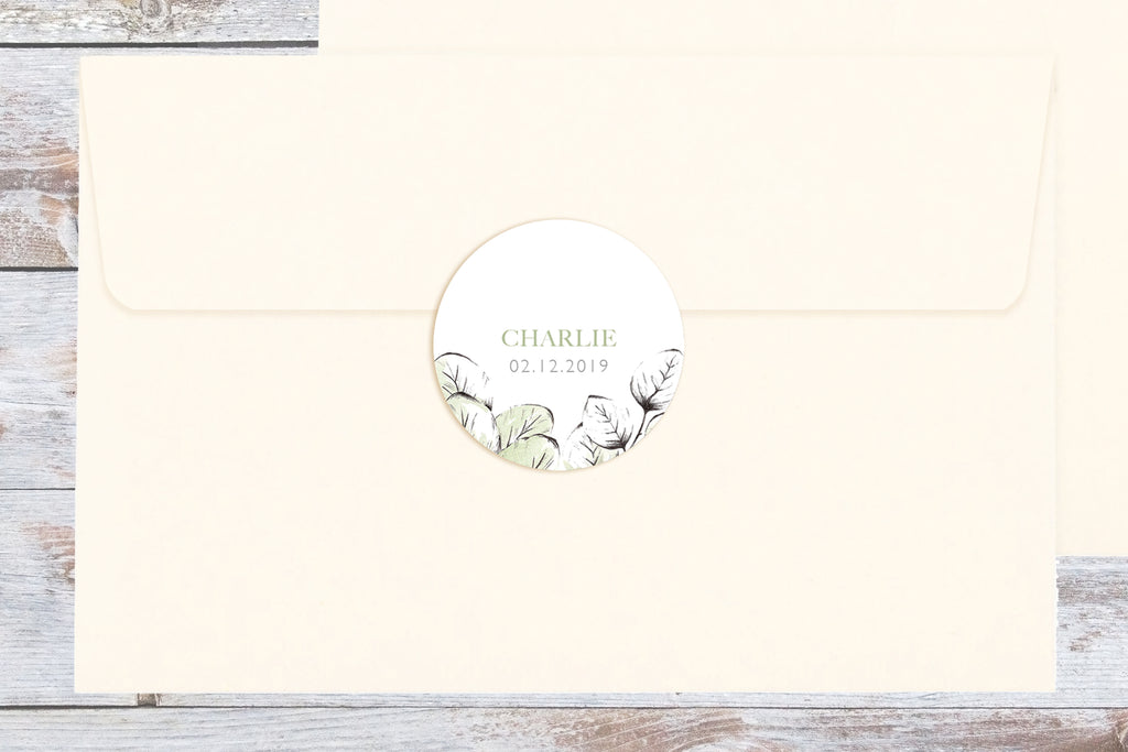Sticker Rond Jardin Secret