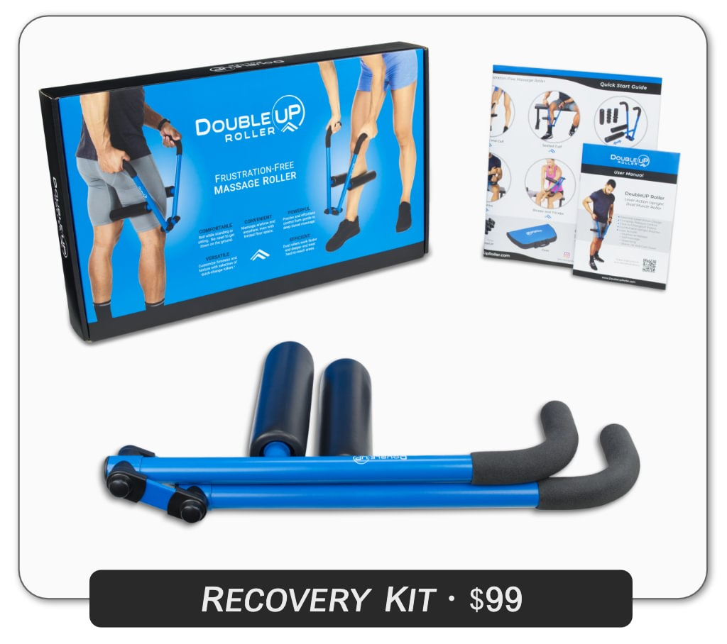 DoubleUP Roller Recovery Kit Contents