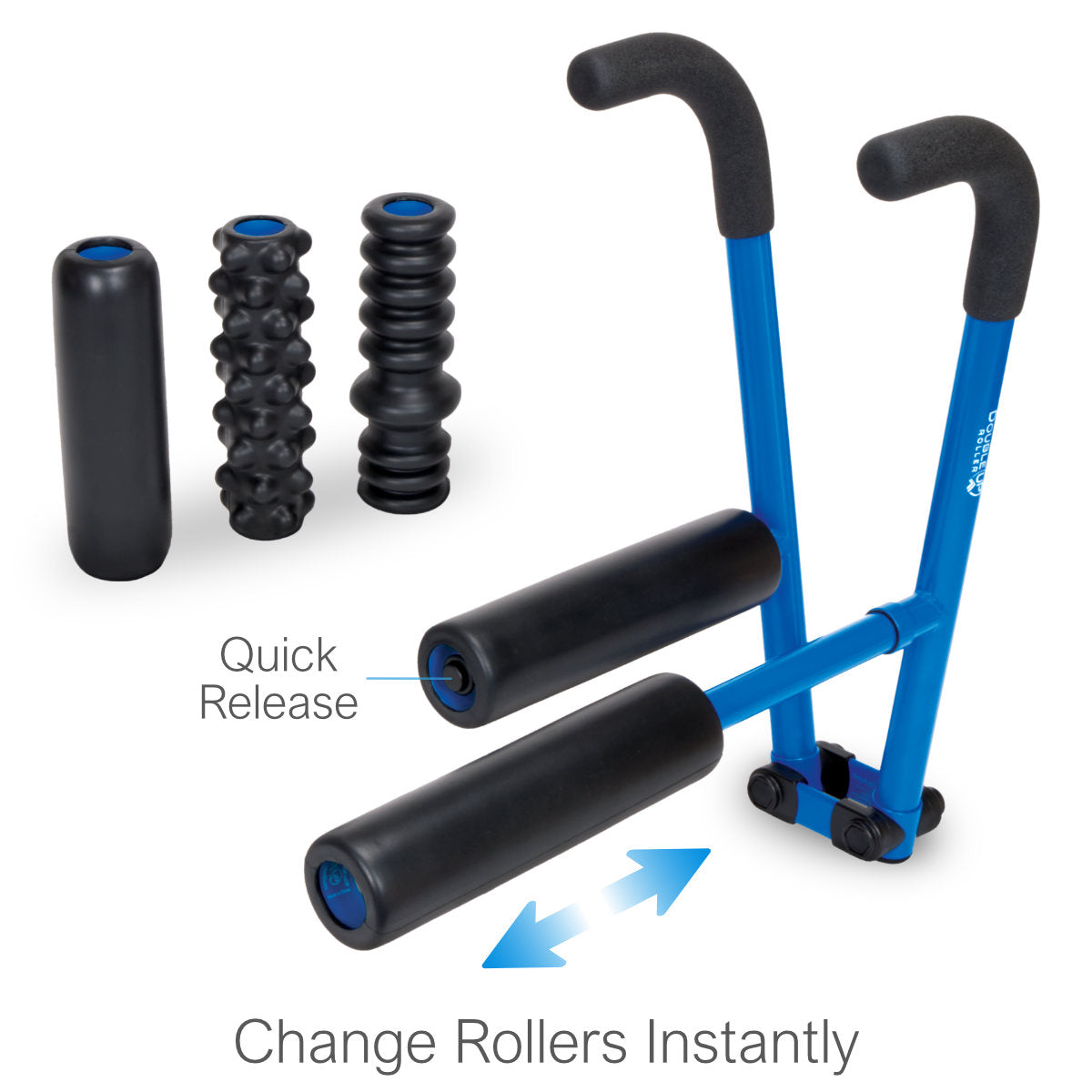 DoubleUP 3-Pack with WarmUP, LoosenUP and BreakUP Rollers