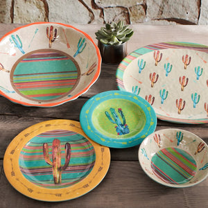 Cactus Serving Bowl- Dinnerware