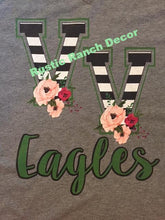 Valley View Eagles Tank Top & TShirts:  VV STRIPE