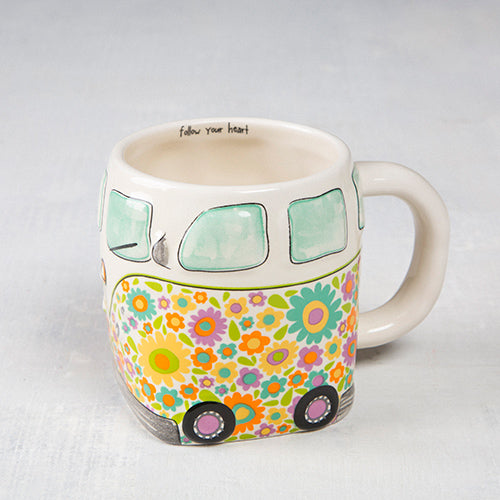 Flower Power Van Mug