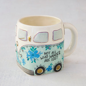 Not All Who Wonder Are Lost Mug