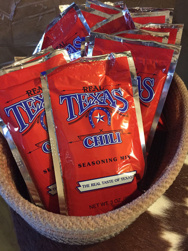 Real TEXAS Chili Mix