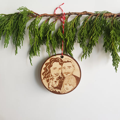 Family Portrait Ornament