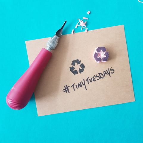 Tiny Tuesdays Mini Stamp | Salt & Paper