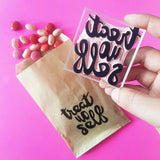 Salt & Paper | Treat Yo Self Stamp