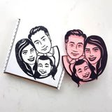 Family Portrait Stamp | Salt & Paper