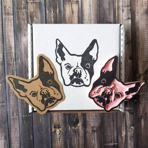 Pet Portrait Stamp | Salt & Paper