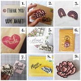 Salt & Paper | Letter Writing Stamp Pack - 3+ stamps