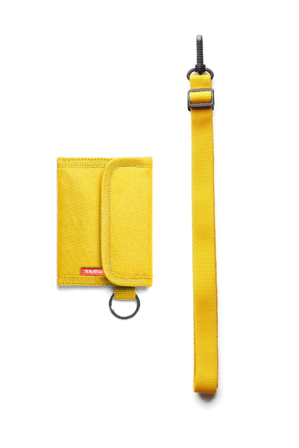 Sako Grid Yellow - Wallet