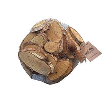Craft Wood Chips Ovals Light Bark (500) Grams for Arts & Crafts