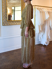 Reims Silk Gown