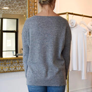 The Cashmere Pocket Crew Neck