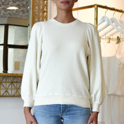 The Pleat Sleeve Sweatshirt