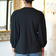 The Pleat Sleeve Top