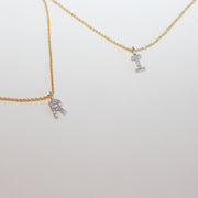 Diamond Letter Necklace