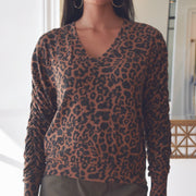 Leopard Adams Sweater